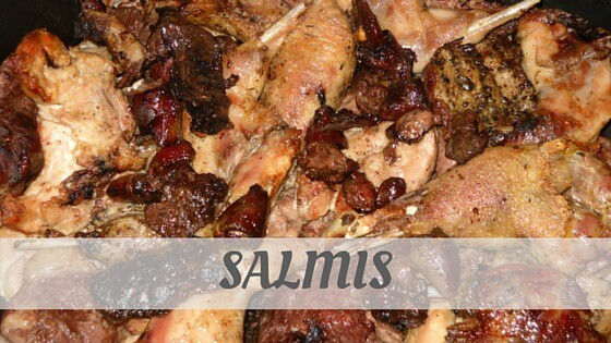 How Do You Pronounce How To Say Salmis?