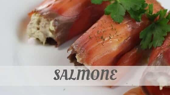 How To Say Salmone