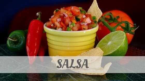 How To Say Salsa (Italian)?