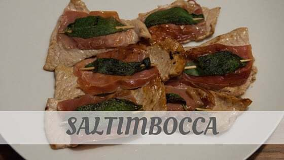 How To Say Saltimbocca?