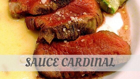 How To Say Sauce Cardinal