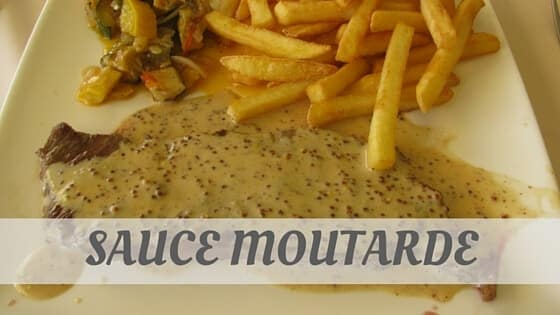 How To Say Sauce Moutarde