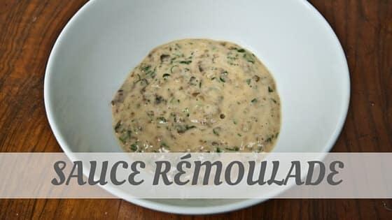 Sauce Rémoulade