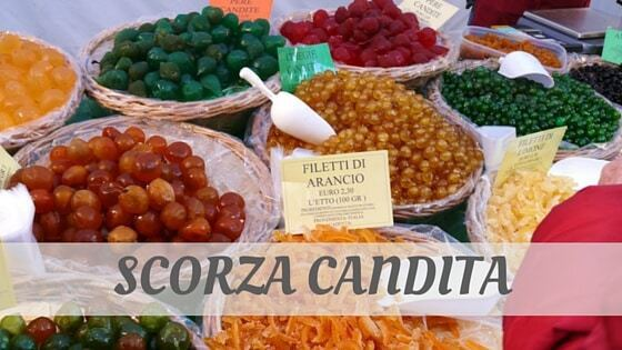 How To Say Scorza Candita?