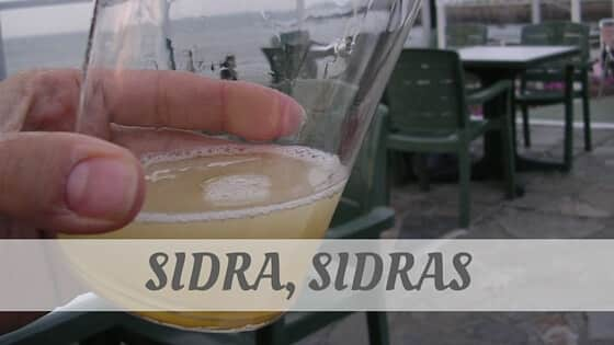 How Do You Pronounce Sidra, Sidras?