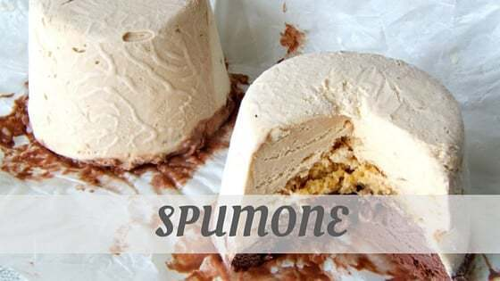 How Do You Pronounce Spumone?