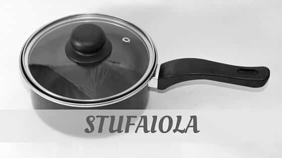 How Do You Pronounce How To Say Stufaiola?