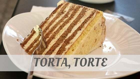 Torta, Torte Pronunciation