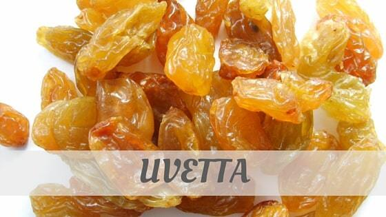 How To Say Uvetta?