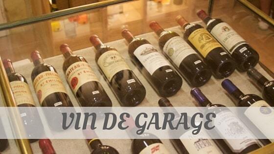 How Do You Pronounce Vin De Garage?