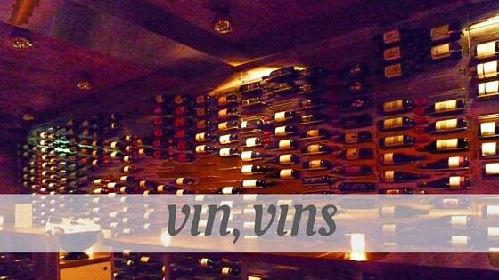 How To Say Vin, Vins?
