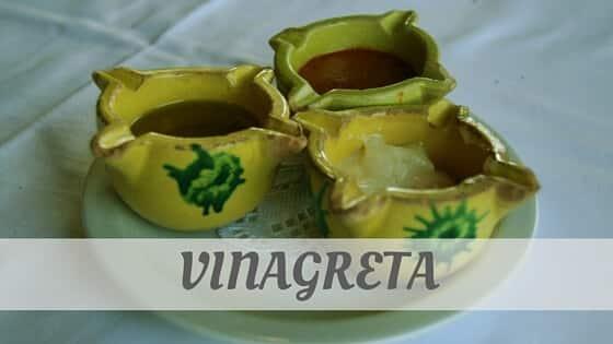 How To Say Vinagreta