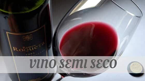 How Do You Pronounce How To Say Vino Semi Seco?
