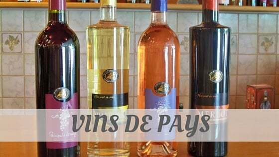 How Do You Pronounce Vins De Pays?