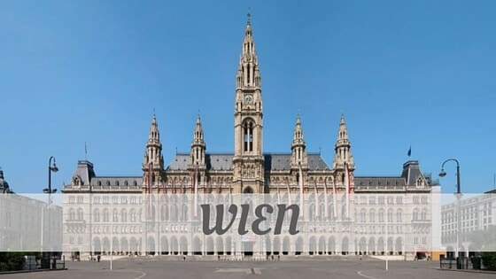 How To Say Wien