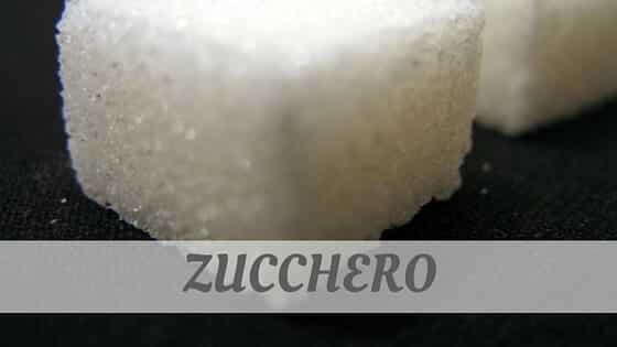 How Do You Pronounce Zucchero?