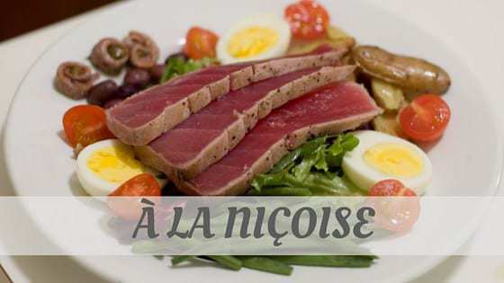 How To Say À La Niçoise