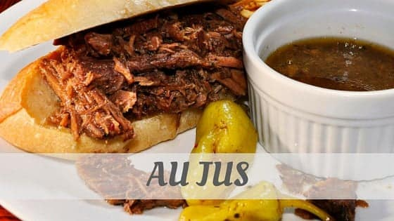 How To Say Au Jus