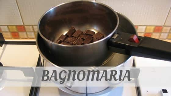 How To Say Bagnomaria?
