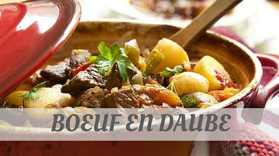 How Do You Pronounce Boeuf En Daube?