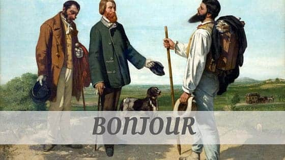 How Do You Pronounce Bonjour?