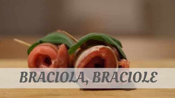 How To Say Braciola
