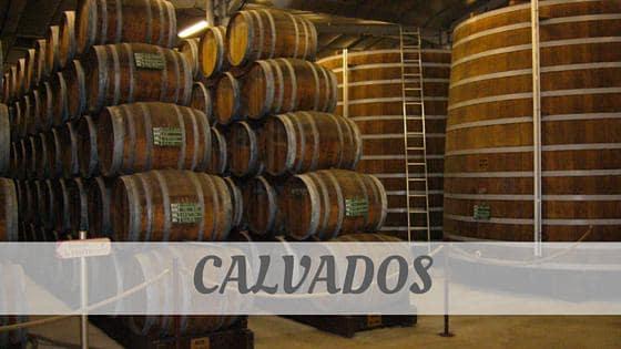 How To Say Calvados?