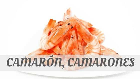 How To Say Camarón