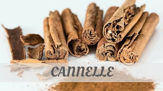 How To Say Cannelle?