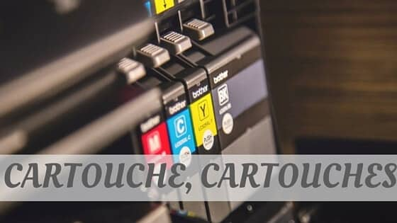 How To Say Cartouche, Cartouches?