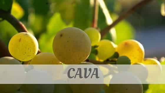 How To Say Cava