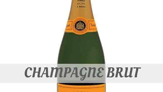 How Do You Pronounce Champagne Brut?