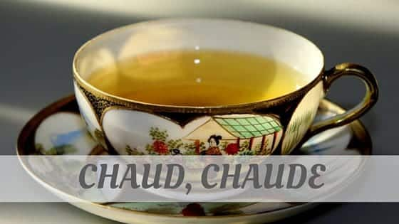 How Do You Pronounce How To Say Chaud, Chaude?