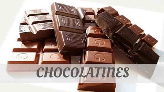 How Do You Pronounce How To Say Chocolatines?