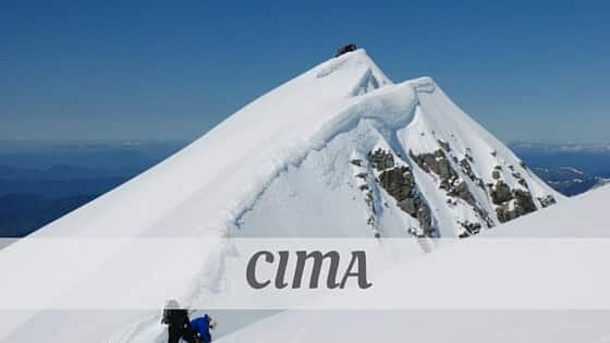 How Do You Pronounce Cima?