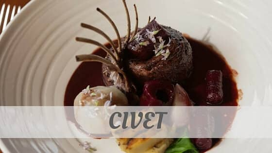 How To Say Civet?