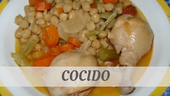 How To Say Cocido?
