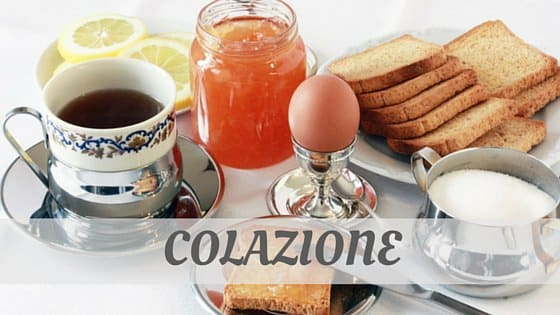 How Do You Pronounce Colazione?