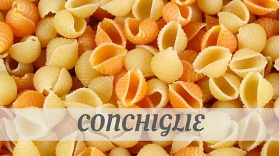 How Do You Pronounce Conchiglie?
