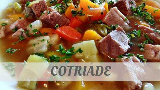 How To Say Cotriade?
