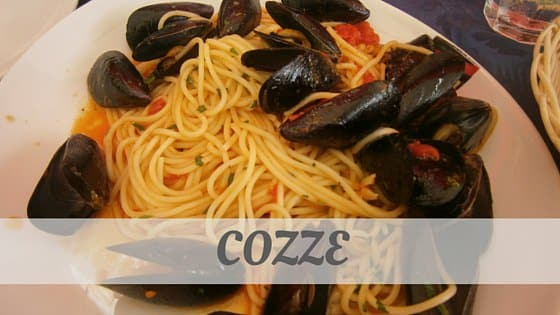 How Do You Pronounce How To Say Cozze?