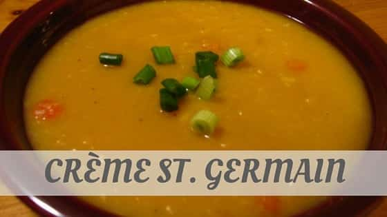 How To Say Crème St. Germain?
