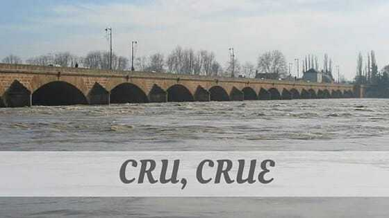 How Do You Pronounce How To Say Cru, Crue?