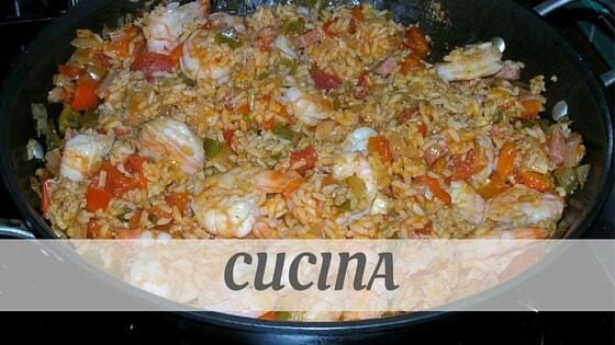 How To Say Cucina?