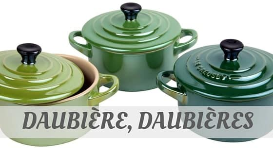 How To Say Daubière