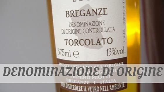 How Do You Pronounce Denominazione Di Origine?