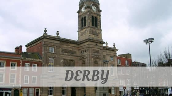 How To Say Derby
