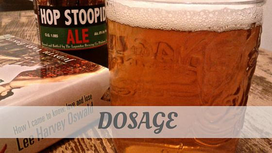 How Do You Pronounce Dosage?