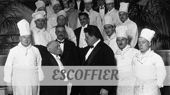 How Do You Pronounce Escoffier?