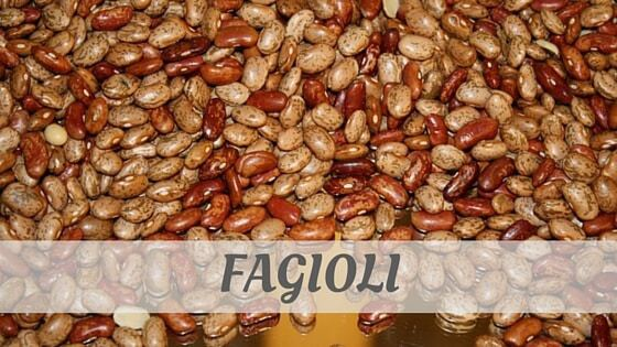 How Do You Pronounce Fagioli?